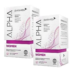 Alpha Women - 2 unidades de 60 Cápsulas - Puravida