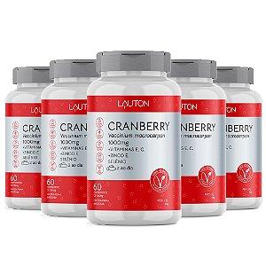 Cranberry Premium - 5 unidades de 60 Comprimidos - Lauton