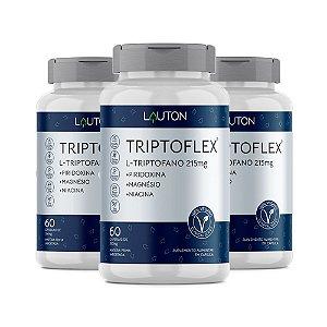 Triptoflex Triptofano - 3 unidades 60 Cápsulas - Lauton