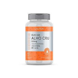 Óleo de Alho Cru com Vitaminas - 60 Cápsulas - Lauton