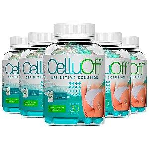 CelluOff - 5 unidades de 30 Cápsulas - Nutrilibrium
