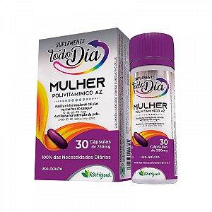 Polivitamínico A-Z Mulher - 30 Cápsulas - Katiguá STD
