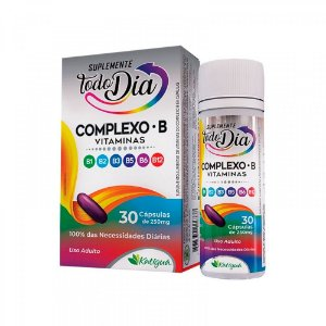 Vitaminas do Complexo B - 30 Cápsulas - Katiguá STD