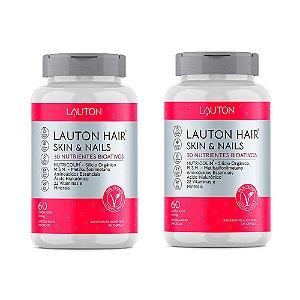 Hair Skin & Nails - 2 unidades de 60 Cápsulas - Lauton