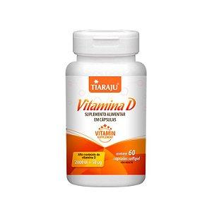 Vitamina D 2000 UI - 60 Cápsulas - Tiaraju