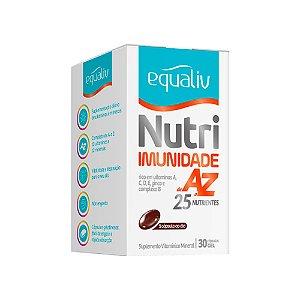 Nutri Imunidade A-Z - 30 Cápsulas - Equaliv