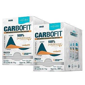 Carbofit 100% Palatinose - 2 unidades com 20 Sachês de 15g - Equaliv