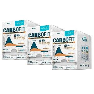 Carbofit 100% Palatinose - 3 unidades com 20 Sachês de 15g - Equaliv