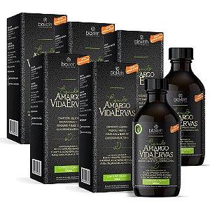 Amargo Vida Ervas Líquido - 5 unidades de 500ml - Bioklein