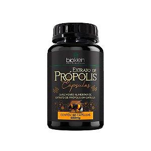 Extrato De Própolis Bioklein Suplemento 60 Cápsulas