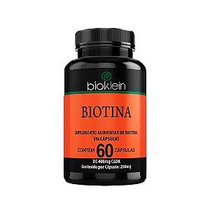 Biotina - 60 Cápsulas - Bioklein