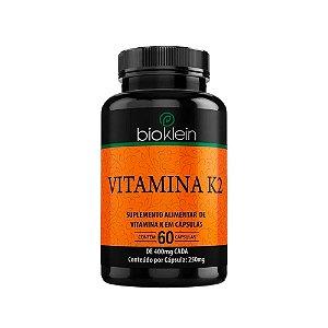 Vitamina K2 - 60 Cápsulas - Bioklein