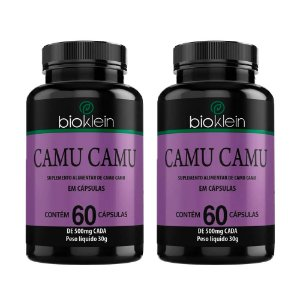 Camu Camu - 2 unidades de 60 Cápsulas - Bioklein