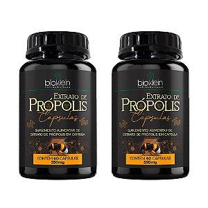 Extrato de Própolis - 2 unidades de 60 Cápsulas - Bioklein