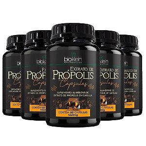 Extrato de Própolis - 5 unidades de 60 Cápsulas - Bioklein