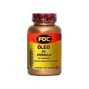 Óleo de Prímula - 120 Cápsulas - FDC