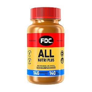 Polivitamínico All Nutri Plus - 140 Comprimidos - FDC