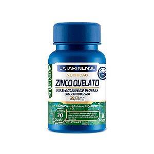 Zinco Quelato Concentrado - 30 Cápsulas - Catarinense