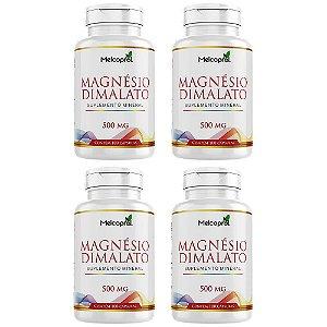 Magnésio Dimalato - 4x 100 Cápsulas - Melcoprol