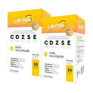 Kit 2 Lavitan Imunidade CDZSE - 30 Comprimidos - Cimed