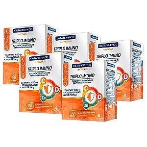 Triplo Imuno - 5 unidades de 30 Comprimidos - Catarinense