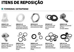 ITENS DE REPOSIÇÃO - TORNEIRAS E EXTRATORAS