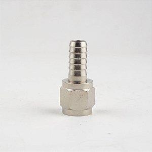 """Espigão 5/16"""" c/ rosca 7/16""""FL para conector ball lock com rosca"""