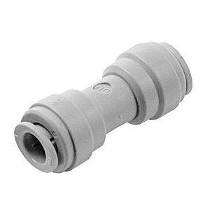 """AUC0606 - Conexão rápida união tubo 3/8"""" x tubo 3/8"""""""