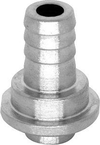 """Espigão reto de inox 304, diametro 3/8"""", para extratora e torneiras de chope"""