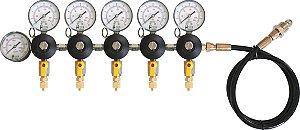 Reguladora de Pressão para N2 - 5 vias