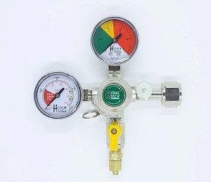 Reguladora de Pressão para CO2 - 1 via