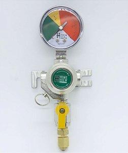 Reguladora de Pressão para CO2 - 1 via secundario