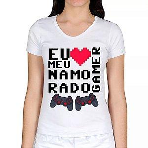 Camiseta Namorado(A) Gamer