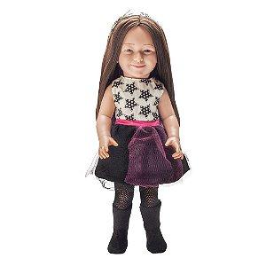Boneca Julia Silva Pop Star - Bambola