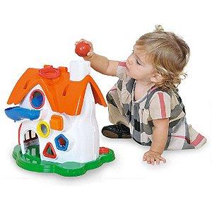 Brinquedo Didático Play Time Casinha Atividades - Cotiplás