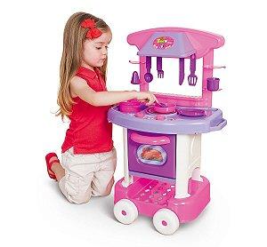 Cozinha Infantil Play Time Com Acessórios 2008 - Cotiplás