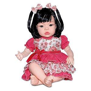 Boneca Bebê Baby Kiss Chora E Balbucia - SidNYL