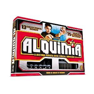Jogo Alquimia 75 Experiências - 13 Elementos Químicos - Grow