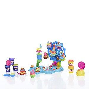 Play Doh Roda Gigante Cupcake Massinha De Modelar Hasbro