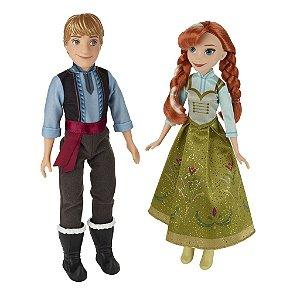 Anna & Kristoff Frozen Disney - Hasbro