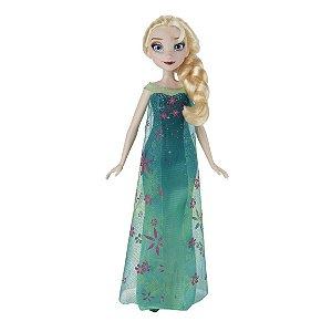 Boneca Elsa Febre Congelante Princesas Da Disney Frozen - Hasbro