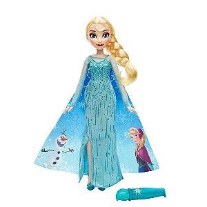 Vestido Mágico Da Elsa Disney Frozen - Hasbro