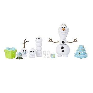 Olaf Febre Congelante Frozen Disney - Hasbro