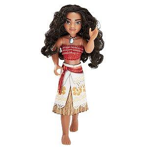 Boneca Moana Aventureira Articulada Princesa Disney - Hasbro