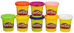 Play doh Arcoíris 8 Potes Massinha De Modelar - Hasbro