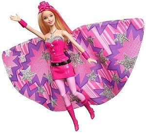 Boneca Barbie 2 Em 1 Filme Super Princesa - Mattel