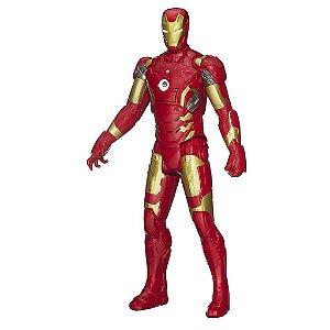 Iron Man Eletrônico Avengers Vingadores - Titan Hero Tech 30 cm