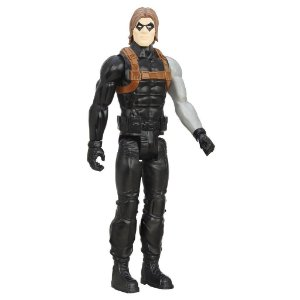 Winter Soldier Marvel Avengers Vingadores Titan Hero 30 cm - Hasbro