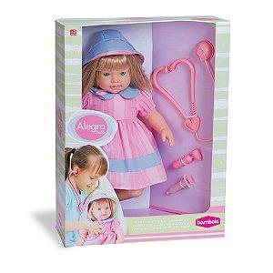 Boneca Alegra Dodói Médica com Acessórios - Bambola