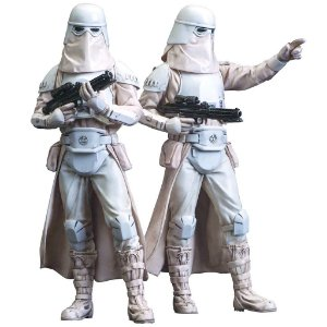 Snowtroopers Two Pack Star Wars - Kotobukiya ARTFX+ Statue